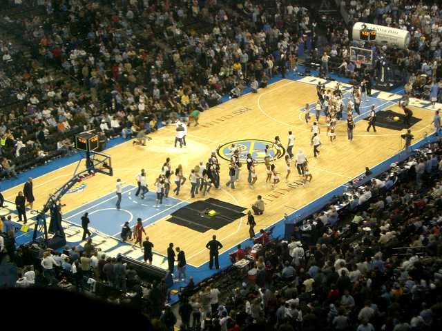 Denver Nuggets Balcony Seats