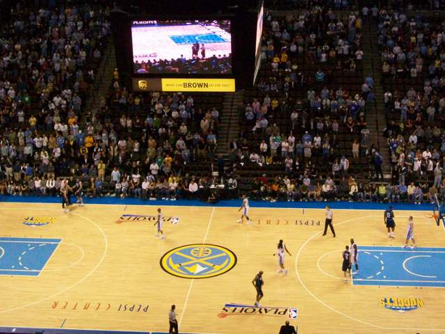 Denver Nuggets Club Seats