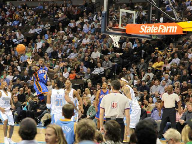 Denver Nuggets Courtside Seats